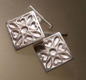【送料無料】メンズアクセサリ― itishアイルランド925cufflinksitish ireland 925 silver cufflinks with heart