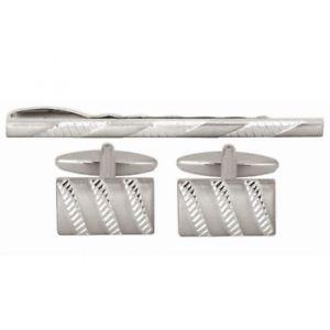 【送料無料】メンズアクセサリ― ストライプカフスボタンタイピンセットタイクリップタイバータイスライドmarket stripes cufflinks and tie pin set tie clip tie bar tie slide