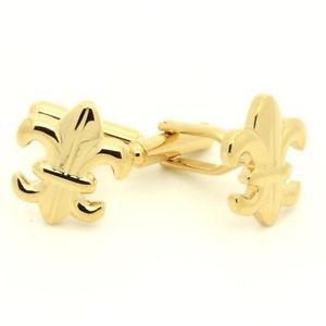 【送料無料】メンズアクセサリ― cufflinksユリcufflinks heraldic lily
