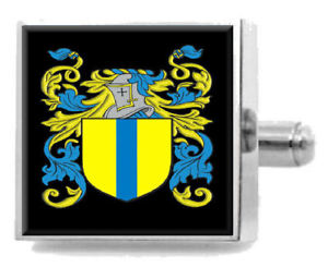 【送料無料】メンズアクセサリ― mcferranスコットランドカフスリンクケースmcferran scotland family crest surname coat of arms cufflinks personalised case