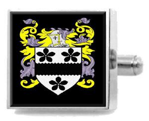 【送料無料】メンズアクセサリ― フォーリーアイルランドカフスリンクケースfoley ireland family crest surname coat of arms cufflinks personalised case