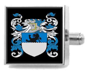 【送料無料】メンズアクセサリ― mcneilスコットランドカフスリンクケースmcneil scotland family crest surname coat of arms cufflinks personalised case
