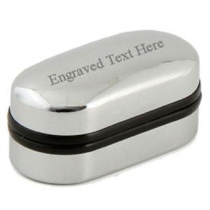 ボックスカフリンクステッドengraved 【送料無料】 box goldtone cufflinks name ted メンズアクセサリ―