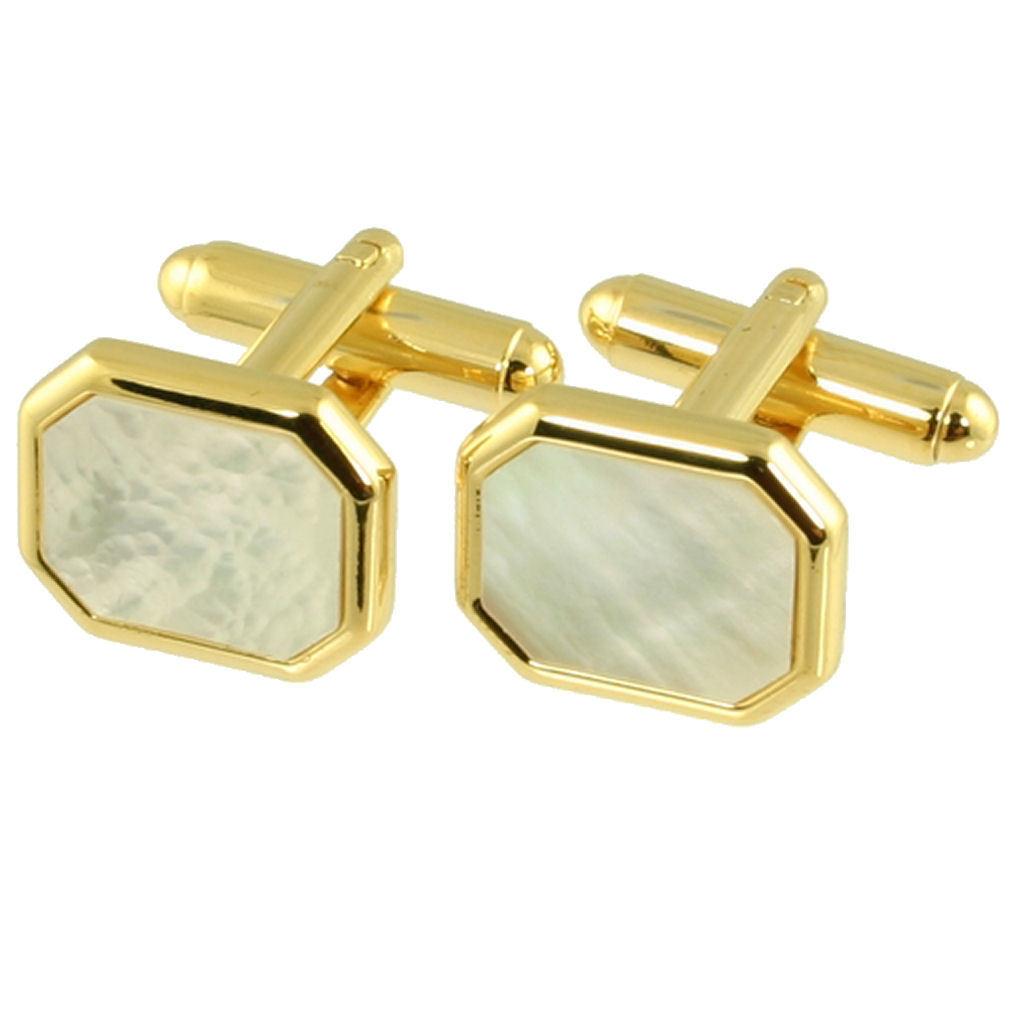 【送料無料】メンズアクセサリ― カフリンクパールカフリンクスボックスcuff links pearl cufflinks hexagonal mother pearl engraved cufflink box