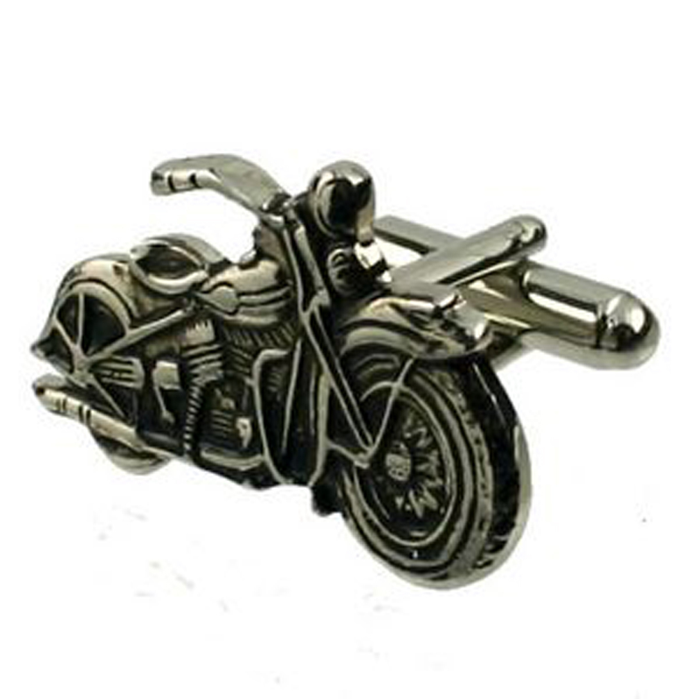 【送料無料】メンズアクセサリ― ハーレーダビッドソンバイクカフスボタンオプションボックスオンharley davidson motorbike cufflinks optional engraved personalised box
