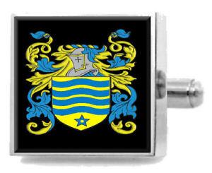 【送料無料】メンズアクセサリ― アイルランドアームカフリンクスパーソナライズケースコートmceochaidh ireland family crest surname coat of arms cufflinks personalised case