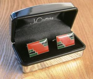 【送料無料】メンズアクセサリ― アールデコカフスボタンメンズexclusive art deco cufflinks limited edition design highly individual mens gift