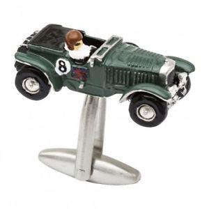 【送料無料】メンズアクセサリ― ブロワベントレーカフリンクス1930 blower bentley car cufflinks