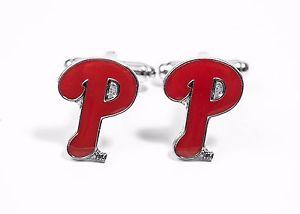 【送料無料】メンズアクセサリ― フィラデルフィアフィリーズカフリンクスリーグphiladelphia phillies cufflinks mlb baseball