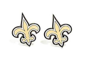 【送料無料】メンズアクセサリ― ニューオーリンズセインツカフスボタンフットボール orleans saints cufflinks nfl football