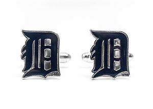 【送料無料】メンズアクセサリ― デトロイトタイガースカフスボタンリーグdetroit tigers cufflinks mlb baseball