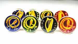 【送料無料】メンズアクセサリ― アイルランドコインペニーハープカフリンクスireland coin cufflinks 12 penny harp and bird 1971 1975 1976 1978 1980 1982