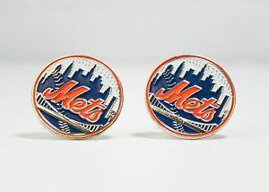 【送料無料】メンズアクセサリ― ニューヨークメッツカフスボタンリーグ york mets cufflinks mlb baseball