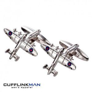 【送料無料】メンズアクセサリ― ランカスターカフリンクスlancaster bomber aeroplane cufflinks