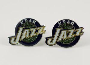 【送料無料】メンズアクセサリ― ユタジャズカフスリンクnbaバスケットボールutah jazz cufflinks nba basketball