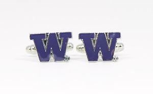 【送料無料】メンズアクセサリ― ワシントンカフリンクスハスキーカスタムカレッジシアトルuniversity of washington cufflinks huskies ncaa custom college seattle udub