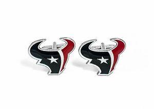 【送料無料】メンズアクセサリ― ヒューストンテキサンズカフスリンクnflフットボールhouston texans cufflinks nfl football