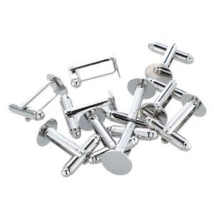 【送料無料】メンズアクセサリ― 20x10xカフスリンクカフスシャツ10mmx1p6ボタン20x10 x metal cufflinks button cuff shirt round 10 mm x1p6