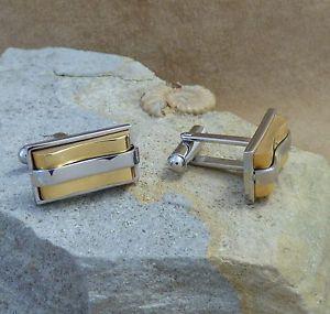 【送料無料】メンズアクセサリ― ステンレススチールバーカフリンクス men's inspirit stainless steel rectangular bar cufflinks