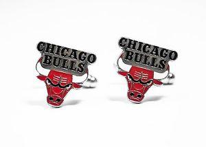 【送料無料】メンズアクセサリ― シカゴブルズカフリンクスバスケットボールchicago bulls cufflinks nba basketball
