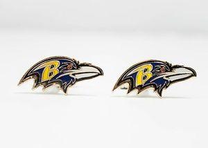 【送料無料】メンズアクセサリ― ボルチモアワタリガラスカフスボタンフットボールbaltimore ravens cufflinks nfl football