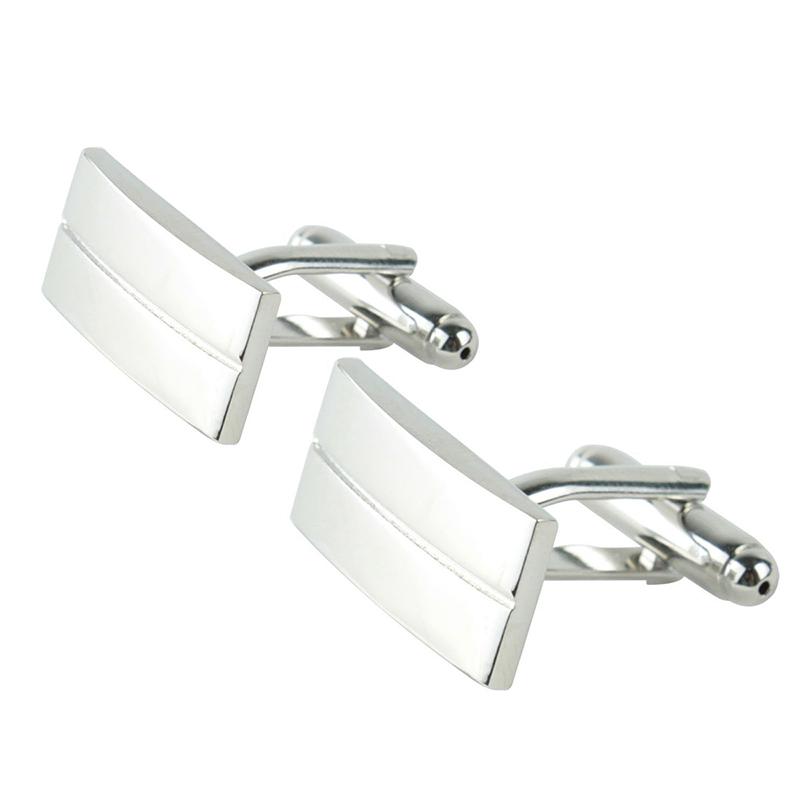 【送料無料】メンズアクセサリ― カフスボタン20xrectangular metal cufflinks f2h9