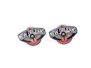 【送料無料】メンズアクセサリ― ニューオーリンズペリカンカフスボタンバスケットボール orleans pelicans cufflinks nba basketball