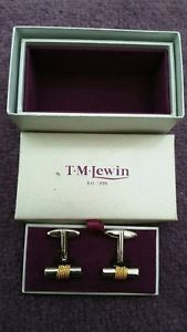 【送料無料】メンズアクセサリ― カフスボタンtm lewin cufflinks nwot
