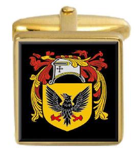 【送料無料】メンズアクセサリ― カレンスコットランドカフスリンクボックスセットcullen scotland family crest coat of arms heraldry cufflinks box set engraved
