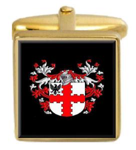 【送料無料】メンズアクセサリ― ウェッブアイルランドカフスリンクボックスセットwebb ireland family crest coat of arms heraldry cufflinks box set engraved