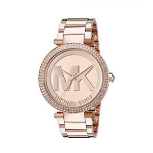 【送料無料】腕時計 ウォッチ ピンクゴールドデザイナーミハエルアナログアラームdiseador de oro rosa michael kors mujeres embellecido cristales analgico reloj mk5865