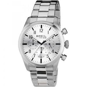 【送料無料】腕時計 ウォッチ クラシッククロノシルバーorologio uomo breil tribe classic elegance ew0225 chrono acciaio silver
