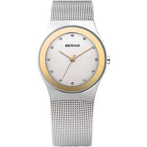 【送料無料】腕時計 ウォッチ ベーリングガラスサファイアスワロフスキークリスタルbering reloj de pulsera 12927010 zafiro vidrio bicolor fantastico cristales swarovski