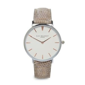 【送料無料】腕時計 ウォッチ エリーwシルバーアラームスローンelie beaumont nuevo aw18 plata reloj sloane