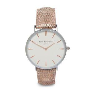 【送料無料】腕時計 ウォッチ エリーwアラームスローンelie beaumont nuevo aw18 reloj rubor sloane