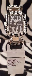 【送料無料】腕時計 ウォッチ スワロフスキークリスタルreloj de lujojimmy crystal adornado con swarovski crystalopal 538 negro