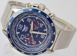 【送料無料】腕時計 ウォッチ シリーズウォッチブレスレットステンレススチールフライヤーaviador para hombre fseries avw83468g404 correa de reloj de acero inoxidable