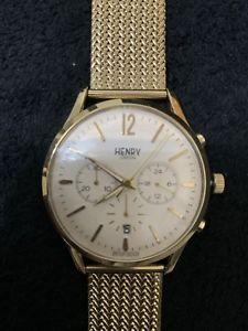【送料無料】腕時計 ウォッチ ゴールドヘンリーロンドンウォッチnuevo reloj para hombres oro henry london