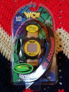 【送料無料】腕時計 ウォッチ クロックデジタルクロックゴールドバーグビンテージレトロwcw creloj trendmasters digital reloj goldberg muy rara vintage retro nwo