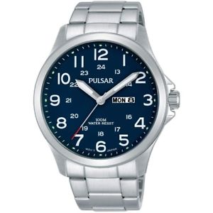 【送料無料】腕時計 ウォッチ アラーム×¥pulsar para hombre esfera azul da fecha reloj pj6095x1 pvp 100