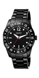 【送料無料】腕時計 ウォッチ ブラックエスプリアナログブラックステンレススチール