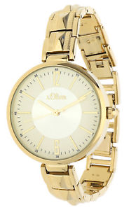 【送料無料】腕時計 ウォッチ オリバーアラームゴールドブレスレットs oliver seora reloj pulsera de oro so15122mqr