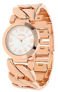 【送料無料】腕時計 ウォッチ オリバーs oliver seora reloj pulsera rosegold so15124mqr
