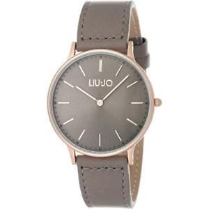 腕時計 ウォッチ ラグジュアリーリュジョドーナムーンライトorologio donna liu jo luxury moonlight tlj1062 pelle grigio ros