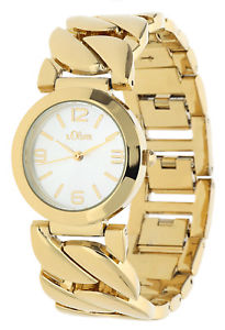 【送料無料】腕時計 ウォッチ オリバーアラームゴールドブレスレットs oliver seora reloj pulsera de oro so15126mqr