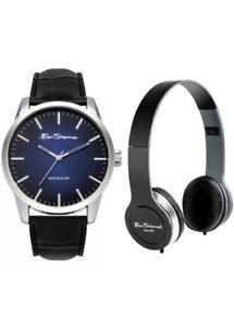 【送料無料】腕時計 ウォッチ ベンシャーマンヘッドフォンセットben sherman reloj y conjunto de auriculares