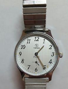 【送料無料】腕時計 ウォッチ montre yema mecanique des annees 1990