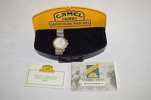 【送料無料】腕時計 ウォッチ キャメルトロフィーボックスcamel trophy multichrono 2 mit box fach h3