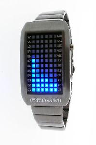 【送料無料】腕時計 ウォッチ reloj pulsera led azul de origen