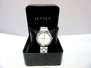 【送料無料】腕時計 ウォッチ ホワイトペンダントjettesilberfb reloj de pulsera con blanca colgante en ovpquartz 8c5055